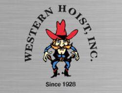 Western Hoist Cowboy Logo