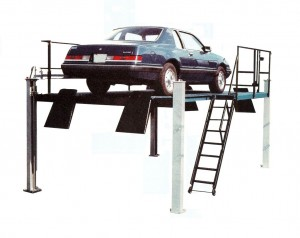 WRTL-12 12,000 Lbs Capacity Four Post Lifts