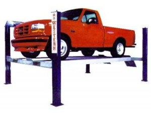 WFP Series 12,000 - 24,000 Capacity Four Post Lifts